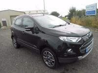 2014 FORD ECOSPORT TITANIUM X-PACK BLACK LOW MILEAGE CHEAP TO SELL DRIVES PERFECT LOW MILEAGE