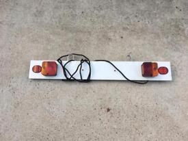 Towbar lightboard
