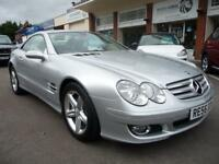 MERCEDES-BENZ SL 3.5 SL350 2d AUTO 272 BHP VERY LOW MILEAGE! (silver) 2006