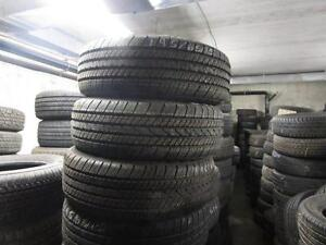 SET OF USED GOODYEAR EAGLE LS TIRES P195/65R15