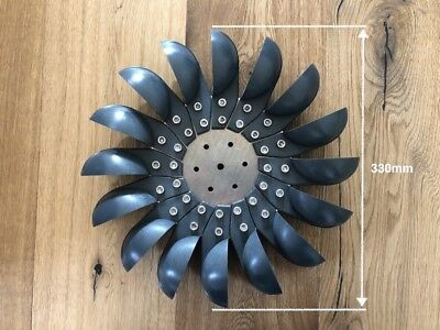 Pelton Wasserrad S16-d28 - Wasserturbine Generator KWK
