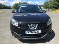 2011 Nissan Qashqai +2 7 Seater 1.5 Turbo Diesel Black starts and drives perfect
