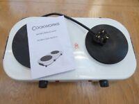 Double Portable Hob/Hot Plate/Boiling Rings - Camping Caravan