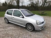 Renault Clio dynamique ( sport replica ) 1.6cc engine* low mileage 52000 miles*NOW WITH A NEW MOT!!!