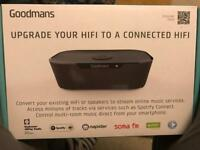 Goodmans upgrade your hifi unopened,