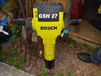 Used Bosch GSH27 110v Heavy Duty Breaker