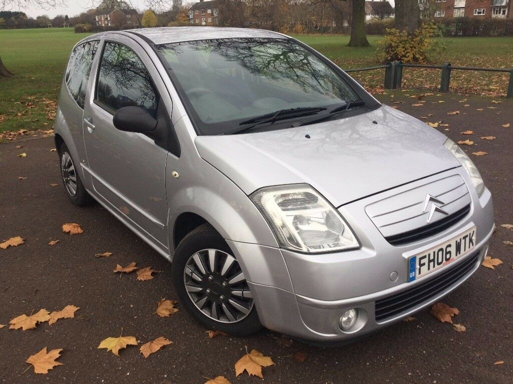2006 citroen c2 1 4 hdi sx 3dr mot til only. Black Bedroom Furniture Sets. Home Design Ideas