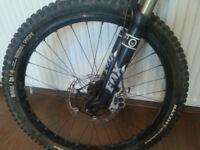 Front wheel tubeless Mavic 26'' – hub hope