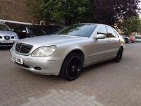 Mercedes benz s320 cdi full 1 year mot sat nav