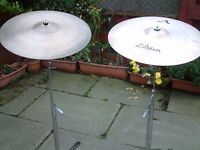 Zildjian Avidis Ride Pro level Cymbals ea with Stand if required