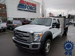 2014 Ford Super Duty F-550 XLT Crew Cab 4x4 - 37,248 KMs, 6.7L