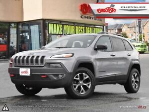 2017 Jeep Cherokee TRAILHAWK L PKG LEATHER PANO ROOF