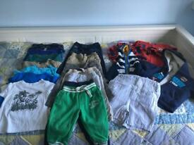 Large Bundle of Boys Clothes - 9 to 12 months