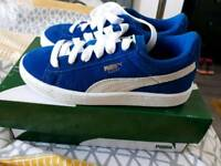Boys Puma Trainers Size 1