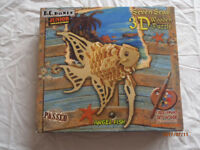 Wooden puzzle kits
