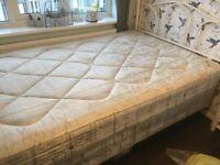 Double bed 124cm x 299cm
