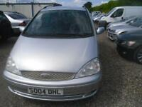 FORD GALAXY 1.9 TD Zetec 5dr [115 PS] MOT FEB 2019 121K 7 SEATER 150BHP TDI MODEL (silver) 2004