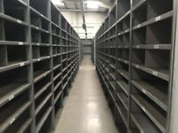 15 bays DEXION impex industrial shelving 2.1M HIGH ( storage , pallet racking )