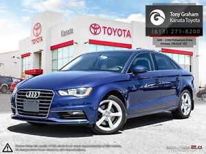 2015 Audi A3 1.8T Komfort Alloys+Sunroof