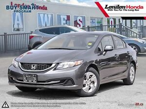 2013 Honda Civic LX Two owner vehicle, Very clean, Clean CarP...