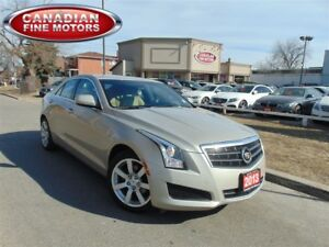2013 Cadillac ATS CLEAN CARPROOF-LEATHER