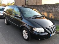 2004 CHRYSLER GRAND VOYAGER 2.8 CRD LIMITED STOW N GO BLACK