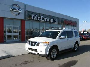 2014 Nissan Armada Platinum Leather, Navigaton, Moonroof and mor