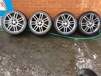 "18"" ROVER MG ALLOYS 5x110"
