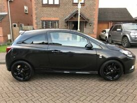 Vauxhall Corsa 2015 (15) 1.2 Limited Edition 3dr Black - Excellent Condition - Lady Owner