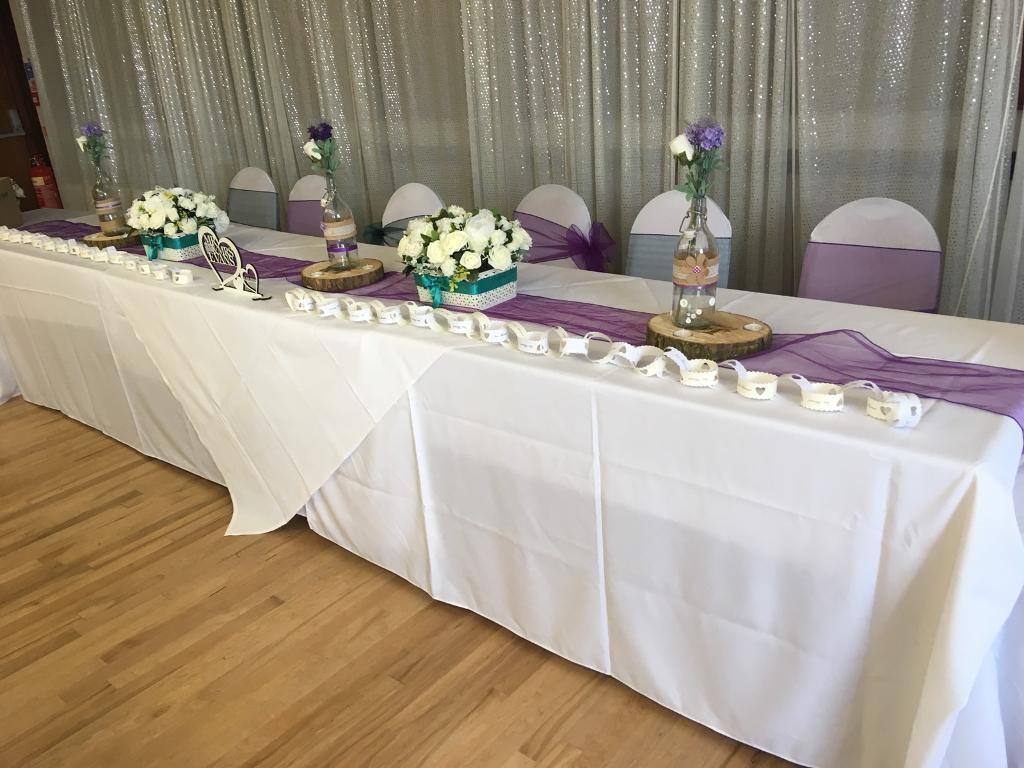 wedding chair cover hire from 1 per chair in rugby warwickshire