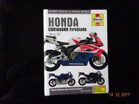 Haynes Service/Repair Manual Honda CBR1000RR 2004/07 Fireblade