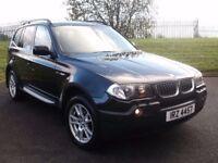 06 BMW X3 3.0 DIESEL SE *220BHP* #FULL MOT# LIKE VITRA RAV4 XTRAIL X5 FREELANDER DISCOVERY 4X4