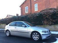 2002 BMW 318 Ti Compact Se Auto Low Miles. Automatic.