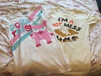 Size 10 David & Goliath T shirts