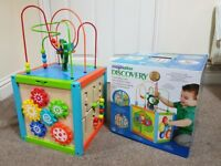 Wooden Multi-Activity Cube Kid Toy Play Set