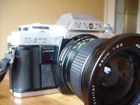 Minolta X-370 Camera Bundle
