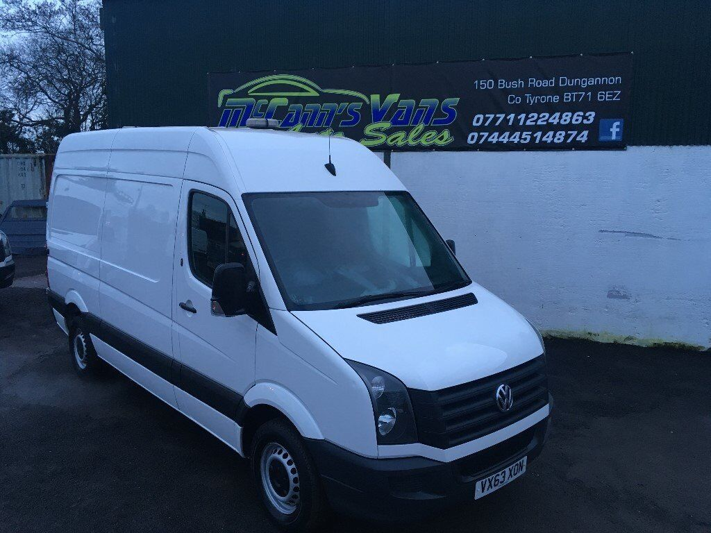 2013 VW CRAFTER MWB 1 OWNER FROM NEW FINANCE AVAILABLE Dungannon
