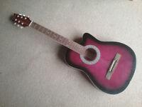 Acoustic guitar 7/8 size