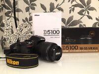 Nikon D5100 DSLR Kit with 18-55mm f/3.5-5.6G Lens