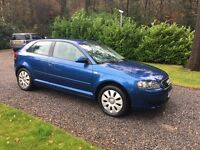 Audi A3 1.6 SE Petrol Hatchback, 3 door, manual, 2004, 98000 miles. Good condition & 2 months MOT