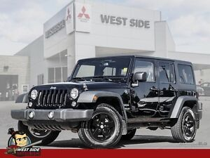 2015 Jeep Wrangler Unlimited Sport-Accident Free-One Owner-$126/