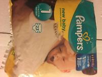 Pampers Newborn brand new pack