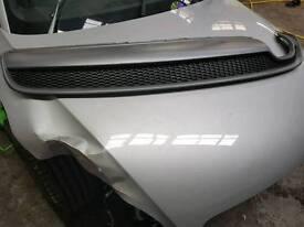 Audi A5 S line rear diffuser