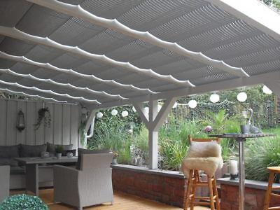 Seilspannmarkise Terrassenbeschattung nach Ihren Maßen, zur Selbstmontage