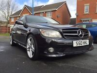 Mercedes Benz C Class 3.0 V6 221 BHP C320 CDI AMG Sport 4 Door 7 speed Auto Tip