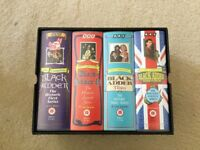 VHS video tapes Blackadder fully complete boxed series 1-4 Ex Con