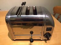 Dualit 3 Slice (2+1) Toaster Classic Stainless Steel