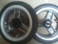 Icandy peach wheels