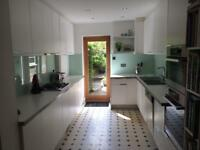 Glass Splashback Green