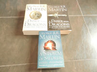 3 Books by George R.R. Martin